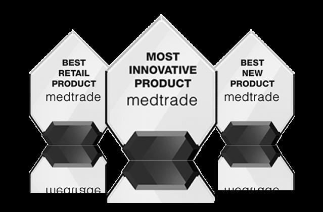 Medtrade three best product awards for iWALK2