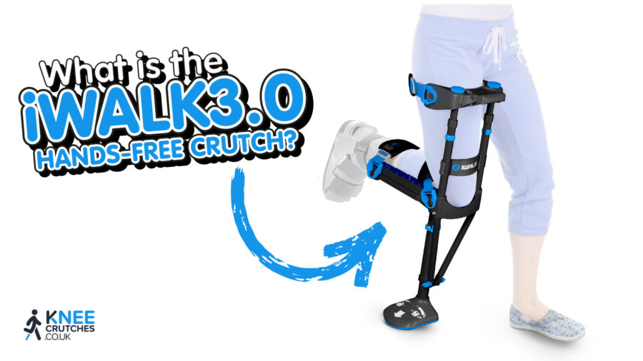 What is The iWALK3.0 Hands-Free Crutch?